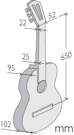 Guitarras Alhambra. Classical. 1 C measures