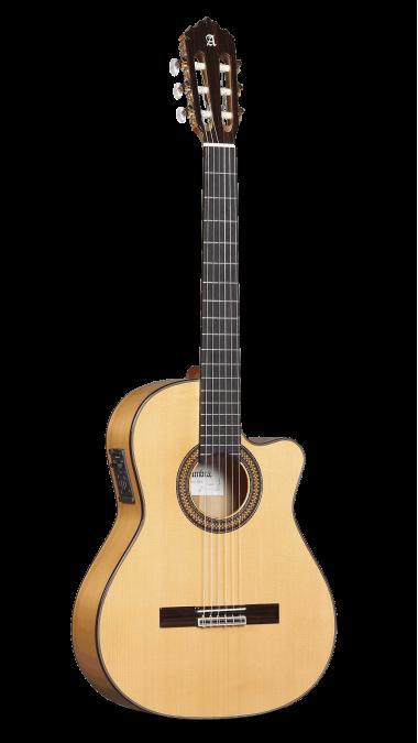 Guitarras Alhambra. Cutaway. Flamenco