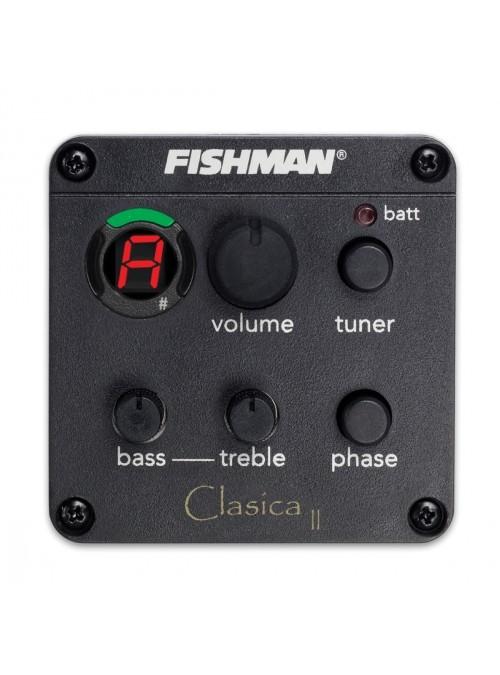Electrificación Fishman Clasica II (EZ) Guitarras Alhambra