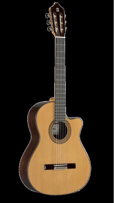 Guitarras Alhambra. Cutaway. Classical