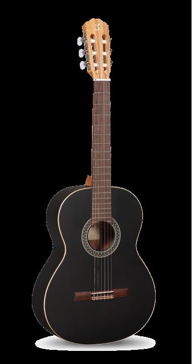 Guitarras Alhambra. Student. 1 C Black Satin