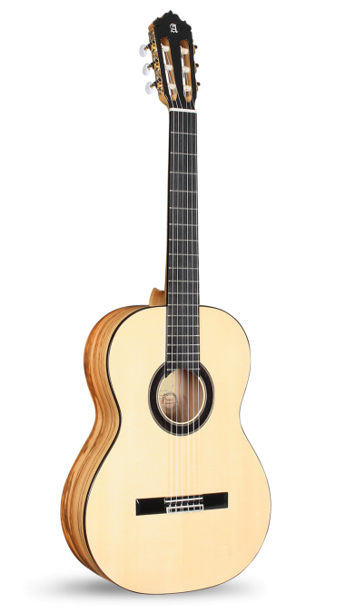 Guitarras Alhambra. Custom Collection. Flamenco Exotic Woods Custom Collection