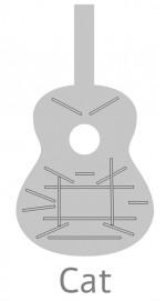Guitarras Alhambra. Signature Guitars. Linea Profesional medidas