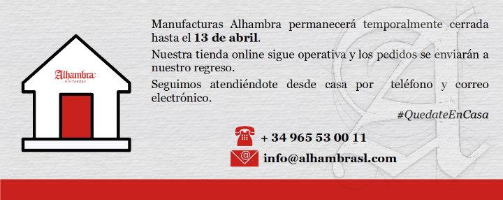 Guitarras Alhambra