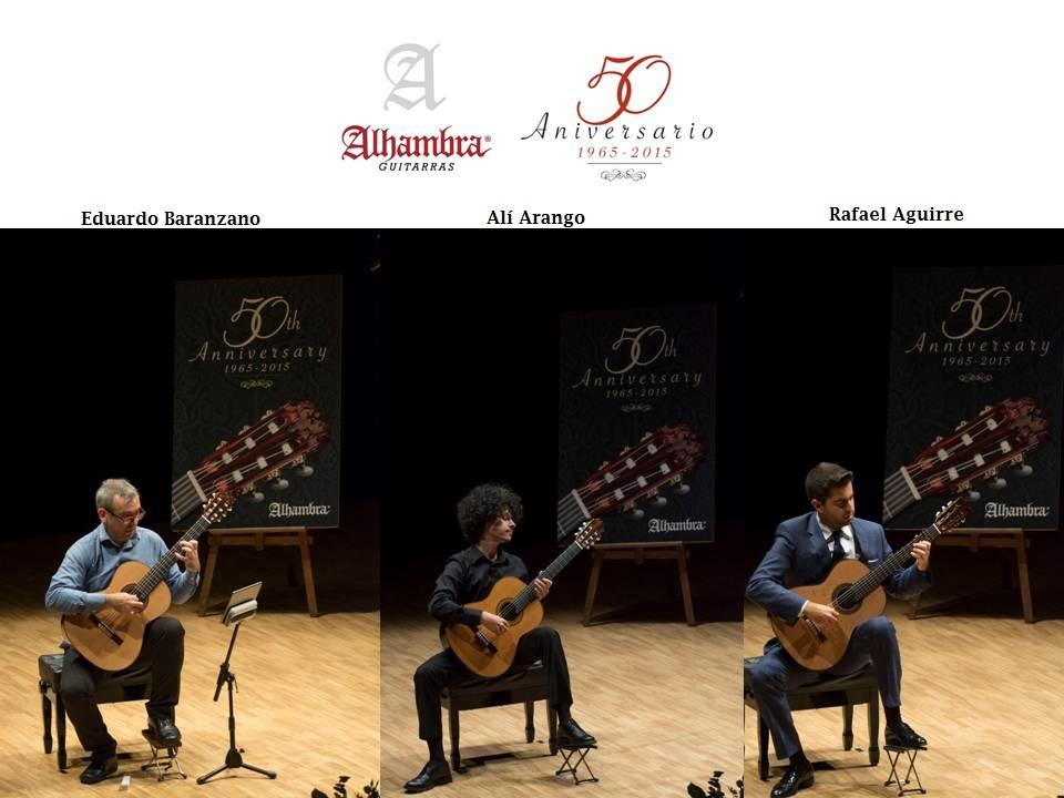 Gala 50 Aniversario Guitarras Alhambra