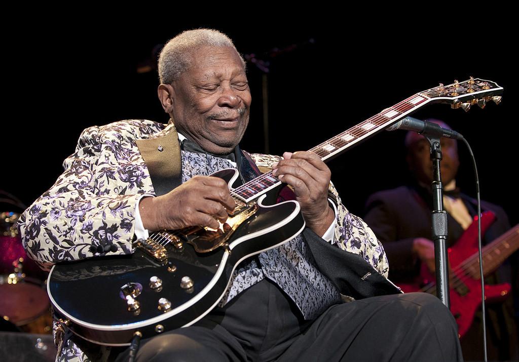 Música para guitarra: tributo a B. B. King
