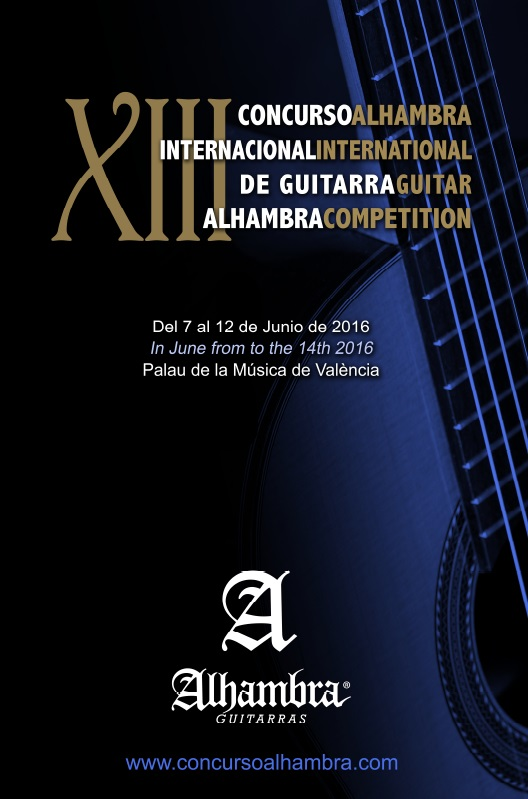 Alhambra International Guitar Competition 2016