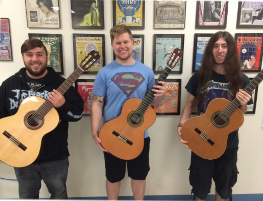 The  Five Towns College -  Alhambra Guitar Trio