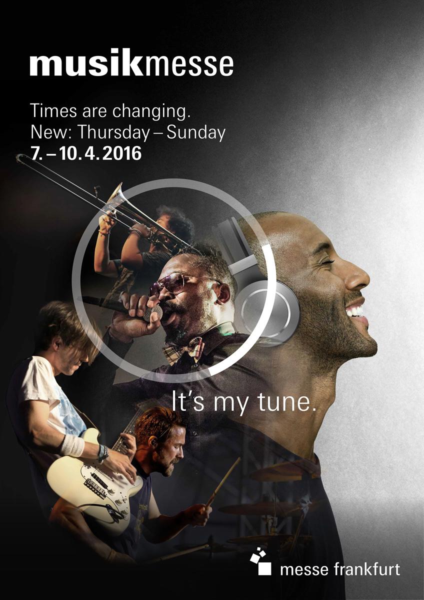 Feria Musikmesse Frankfurt. 7-10 abril 2016
