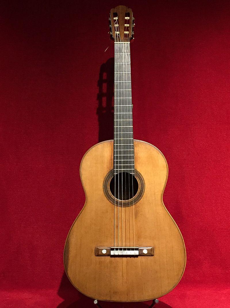 ¿Sabes cómo era la guitarra de Tárrega?