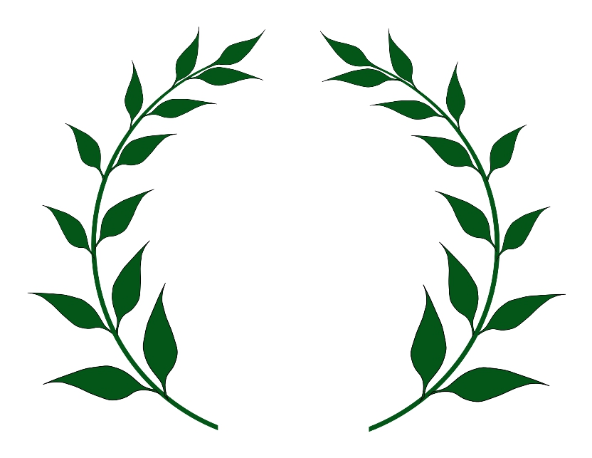 Laurel leaves crown the great poets and artists.