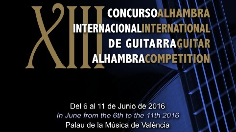 XIIIth Alhambra International Guitar Competition