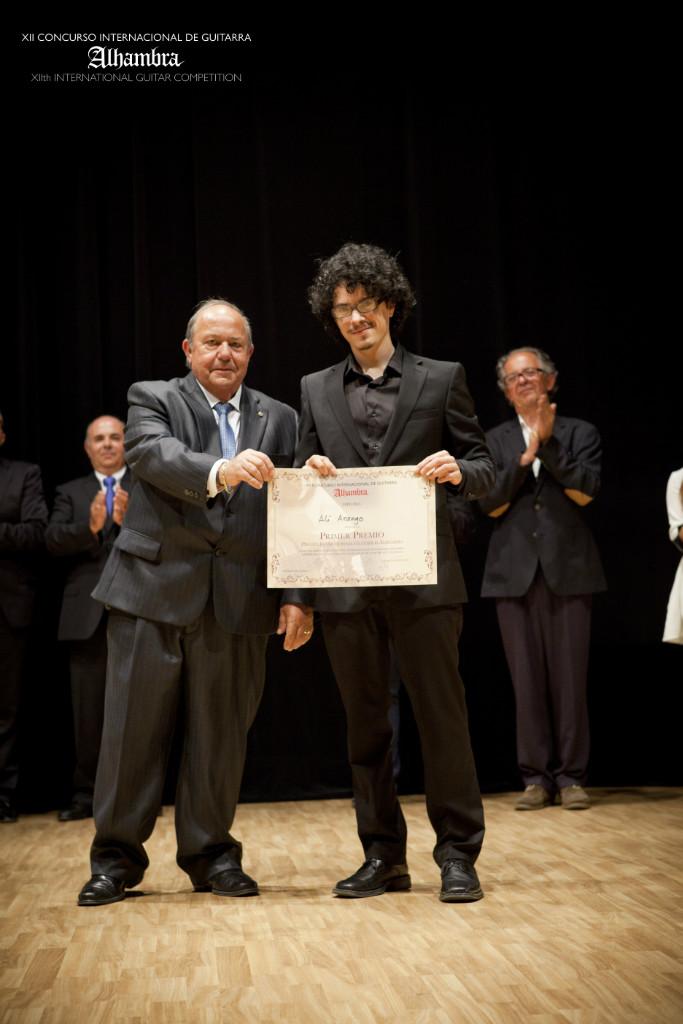 Llegan los guitarristas de la XIII edición del concurso Alhambra
