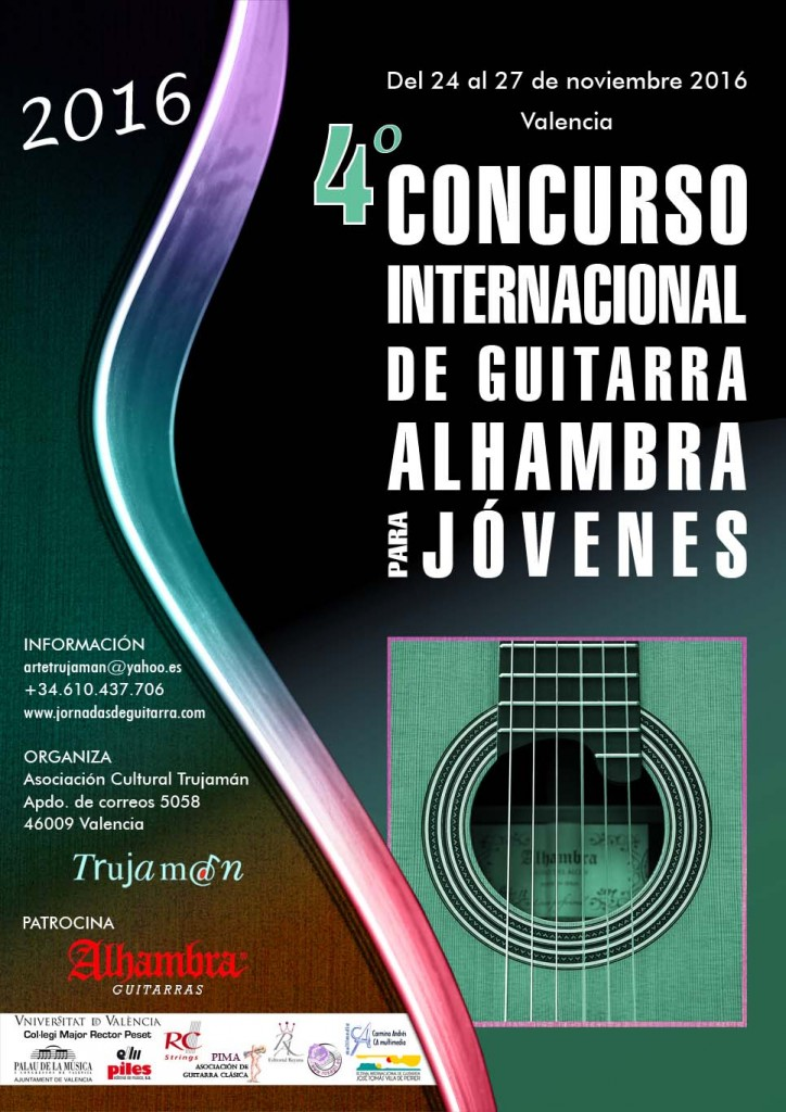 The little brother of the Alhambra International Guitar Competition