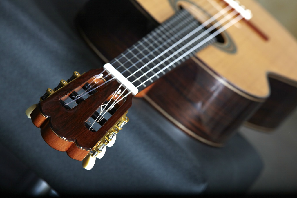 The grandness of the Spanish Guitar