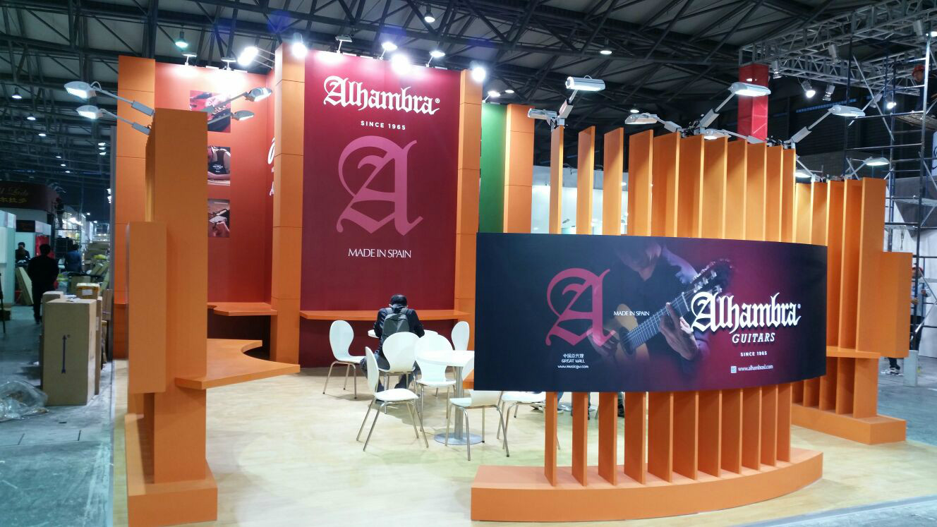 Alhambra Guitars Luthier in Music China
