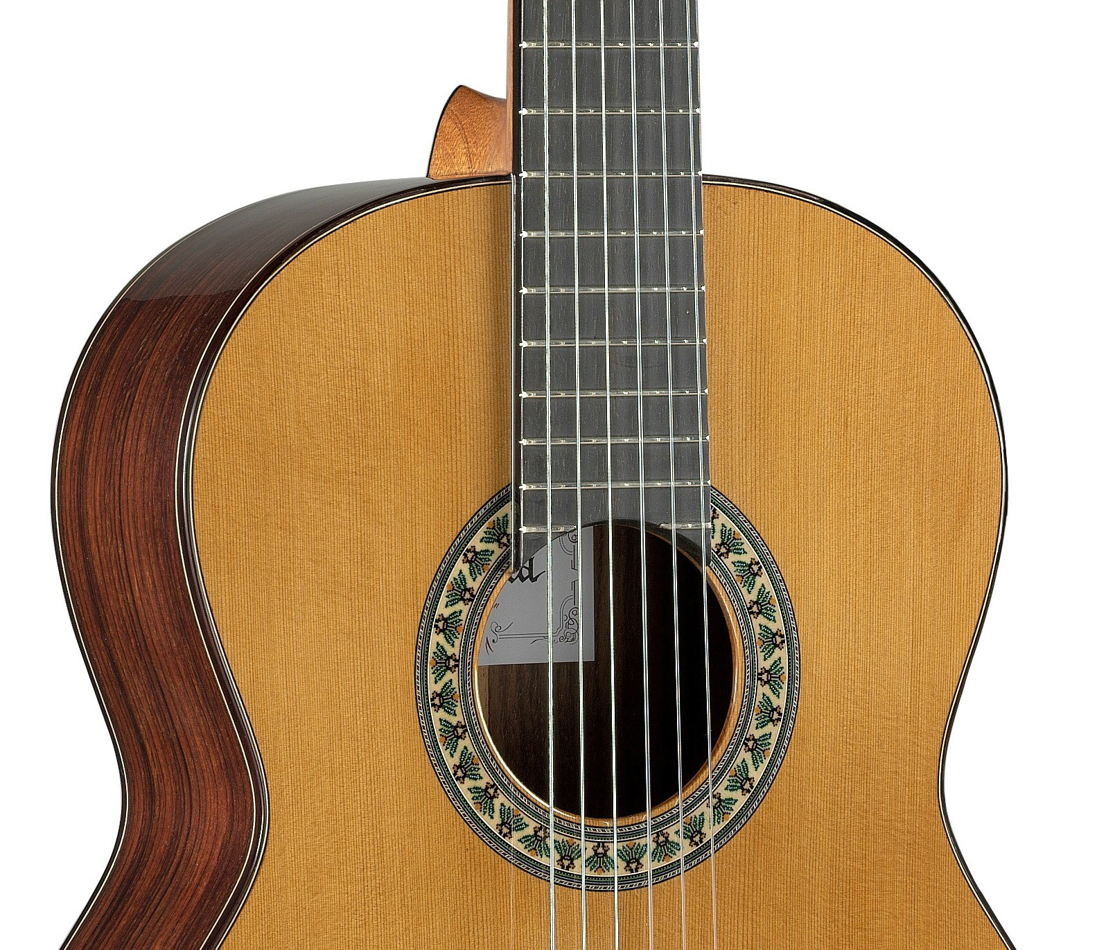 The semiprofessional student range of Alhambra Guitars