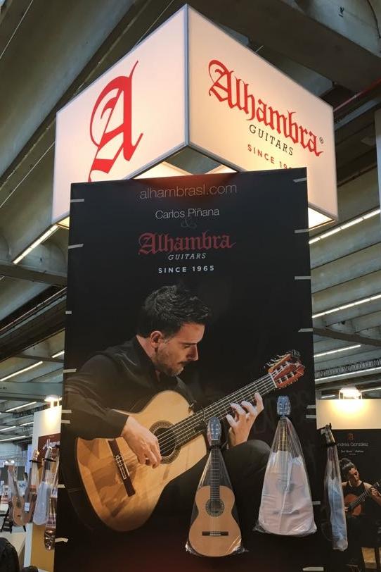 Guitarras Alhambra presentará nuevos modelos en la  FERIA DE FRANKFURT 2017