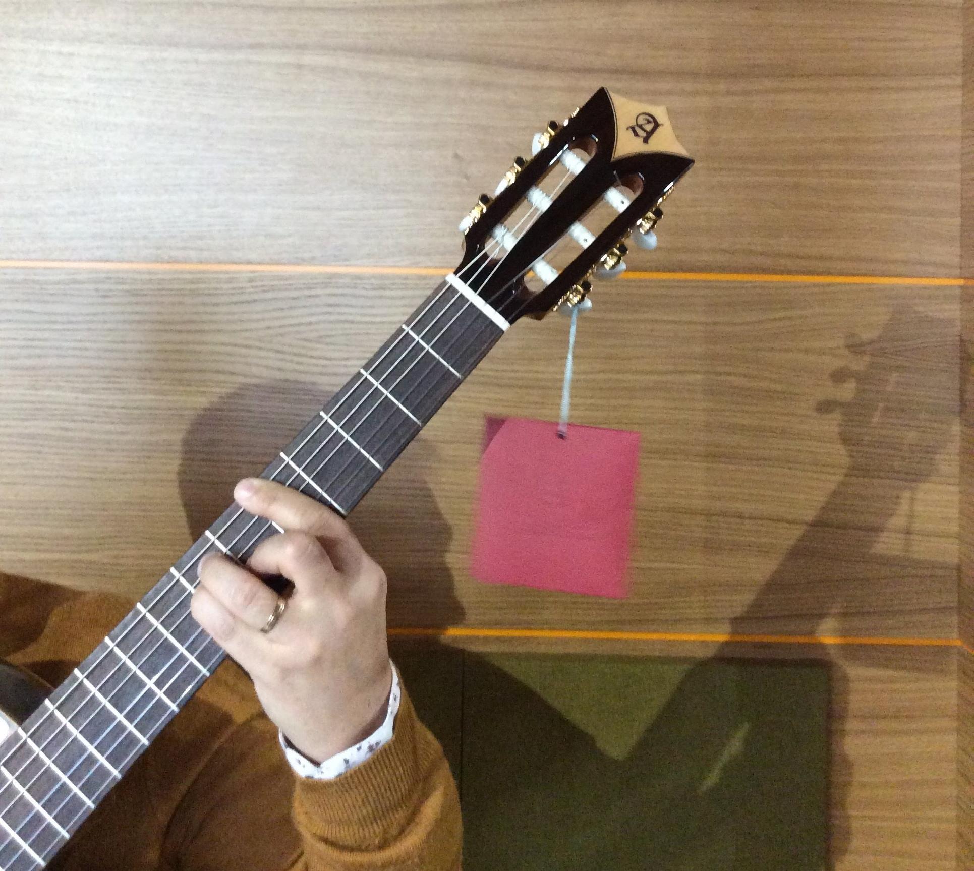 Die Härte in der Gitarre