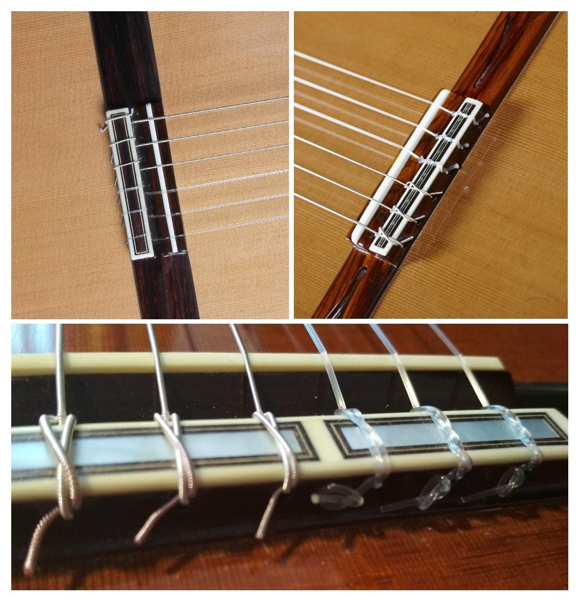 Comment puis-je mettre les cordes sur ma guitare?