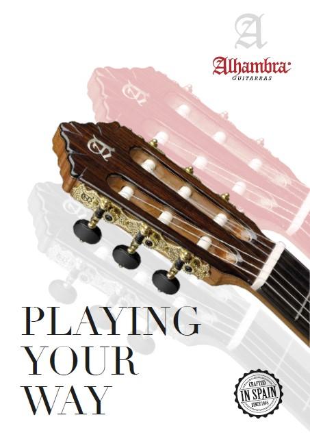 12 Ragioni per scegliere una chitarra Alhambra