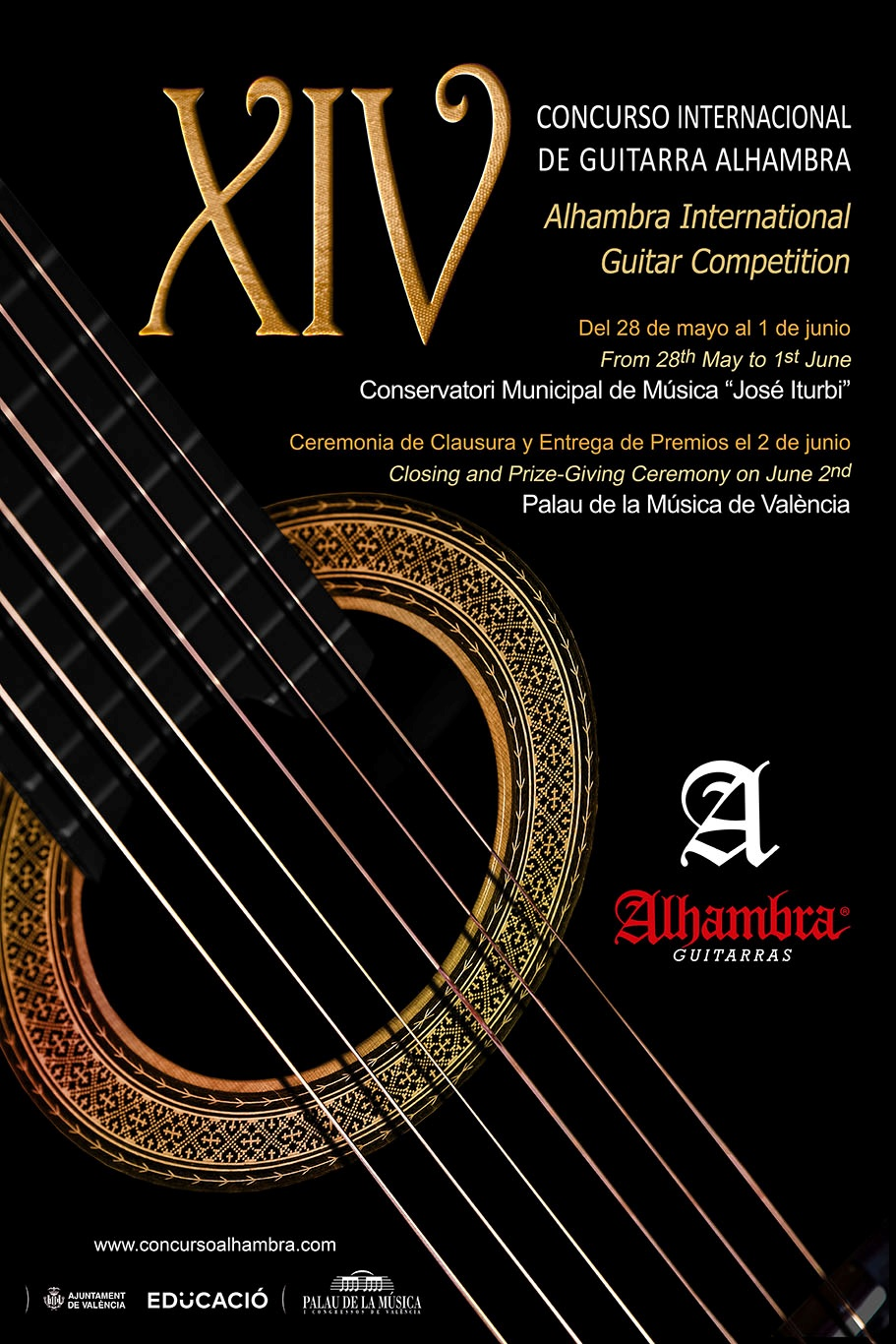 Concurso Alhambra 2018, Guitarras Alhambra