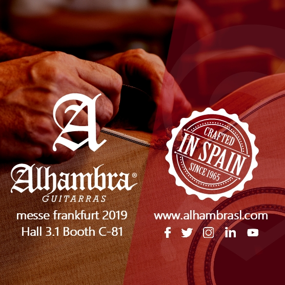 Alhambra will combine innovation and tradition at Messe Frankfurt 2019