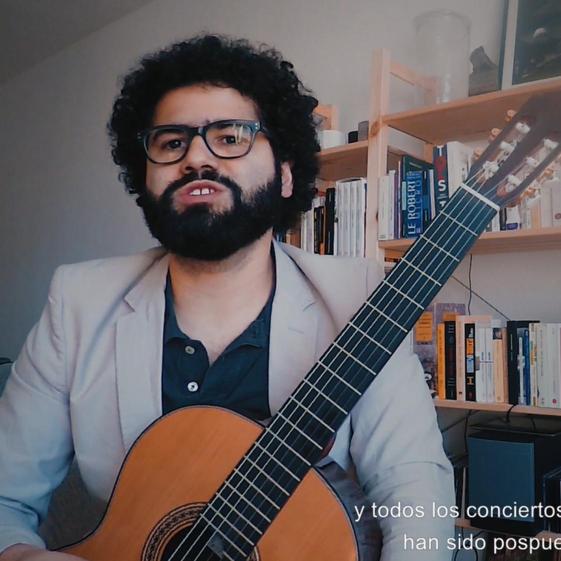 Pedro Aguiar - Retratos en Tiempos de Pandemia – Guitarras Alhambra