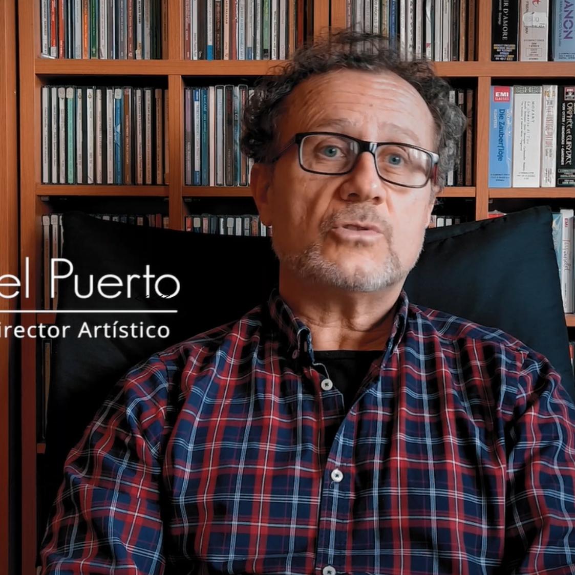 Con José Luis Ruíz del Puerto - Retratos en Tiempos de Pandemia