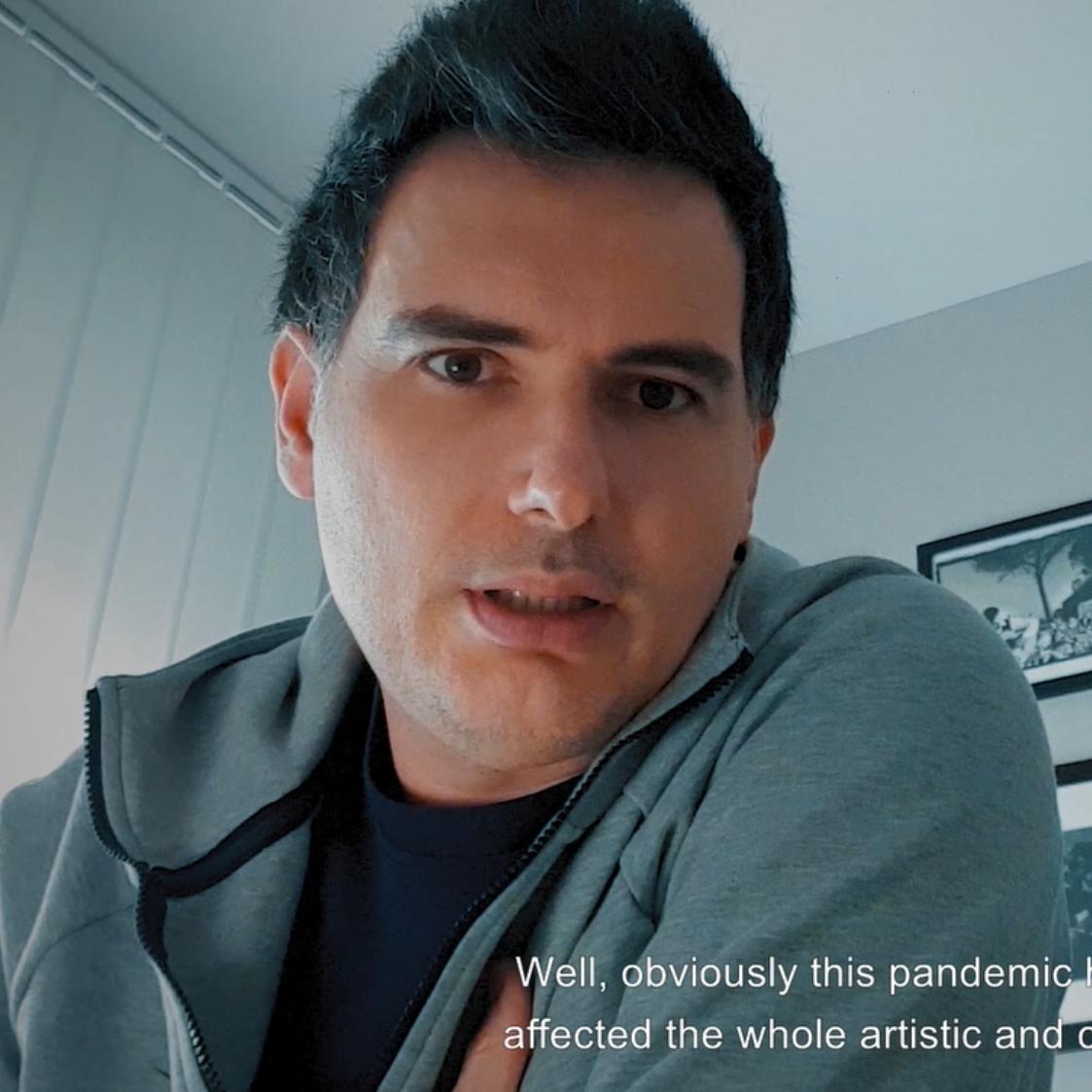 Con Carlos Piñana - Retratos en Tiempos de Pandemia