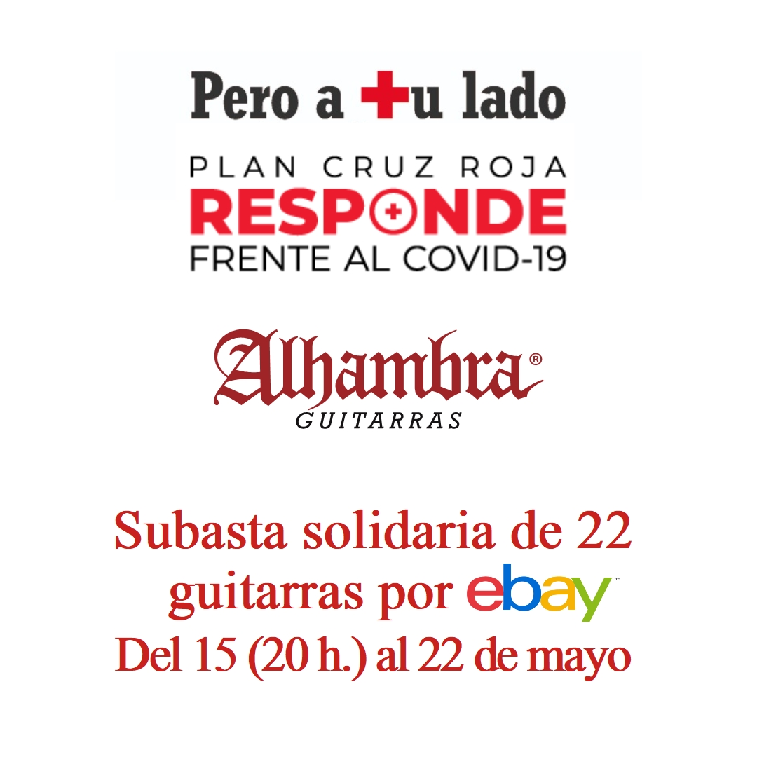 Alhambra Guitars will donate 22 guitars and join forces with Los Secretos