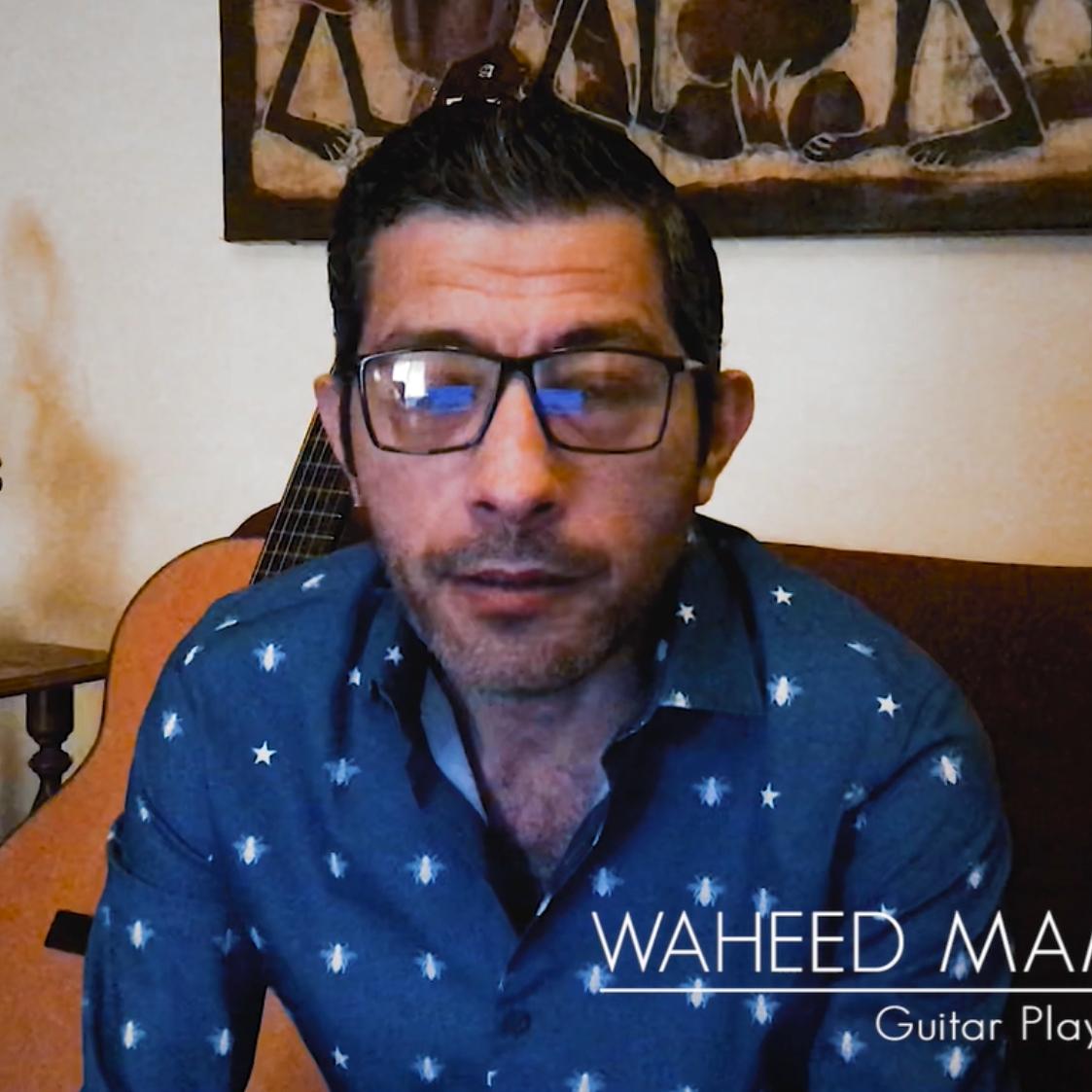 Con Waheed Mamdouh  - Retratos en Tiempos de Pandemia